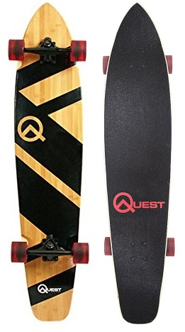 Quest Super Cruiser Longboard Skateboard
