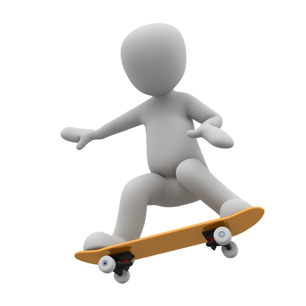 Learning Skateboard